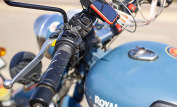 Royal Enfield Classic 500 Squadron Blue 5