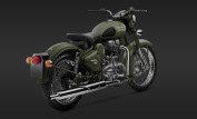 Royal Enfield Classic 500 Battle Green 2