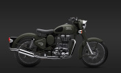 Royal Enfield Classic 500 Battle Green 3