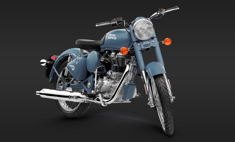 Royal Enfield Classic 500 Squadron Blue 1