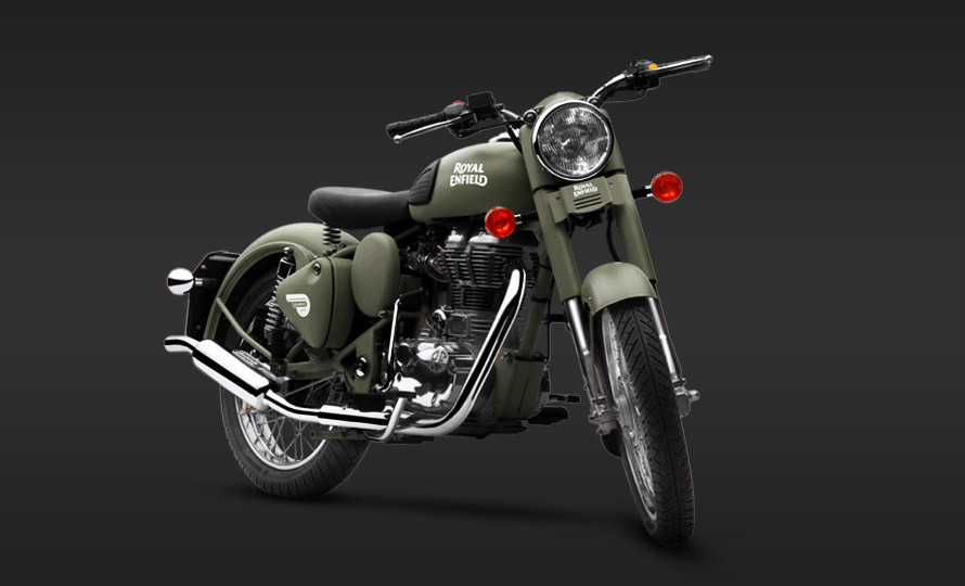 Royal Enfield Classic 500 Battle Green 1