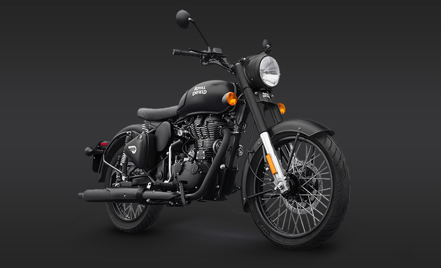 Royal Enfield Classic 500 Stealth Black 1