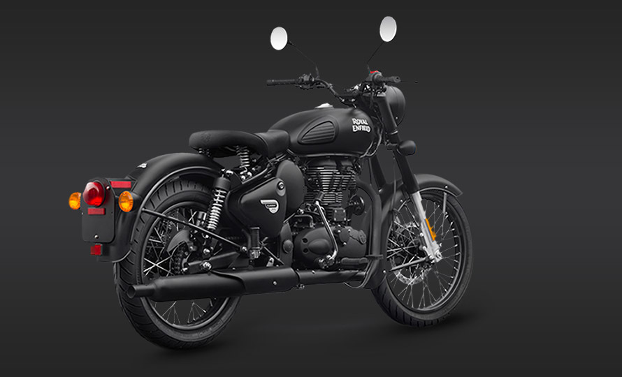 Royal Enfield Classic 500 Stealth Black 2