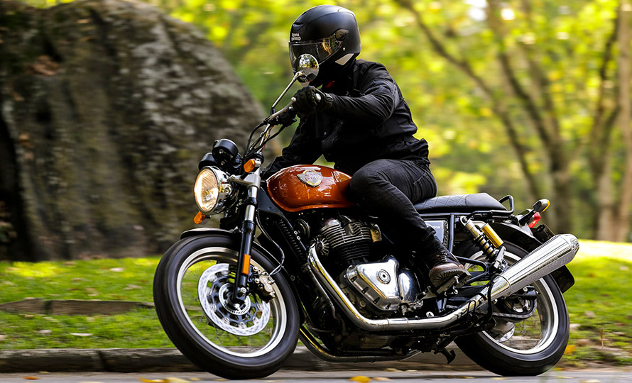 Royal Enfield Interceptor 5